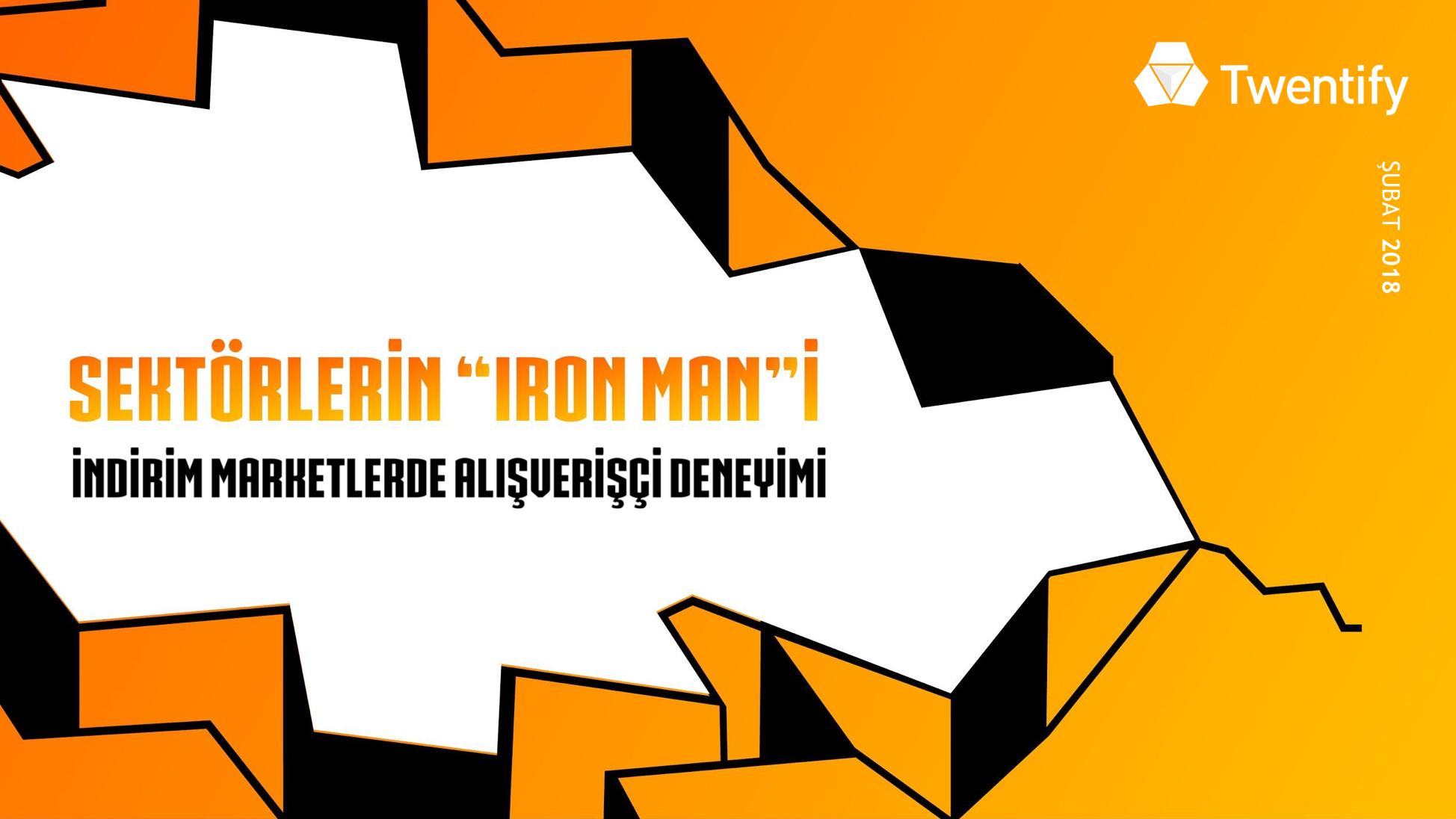 Sektörlerin _Iron Man_i İndirim Marketlerde Alışverişçi Deneyimi